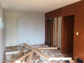 Existing closets removed.